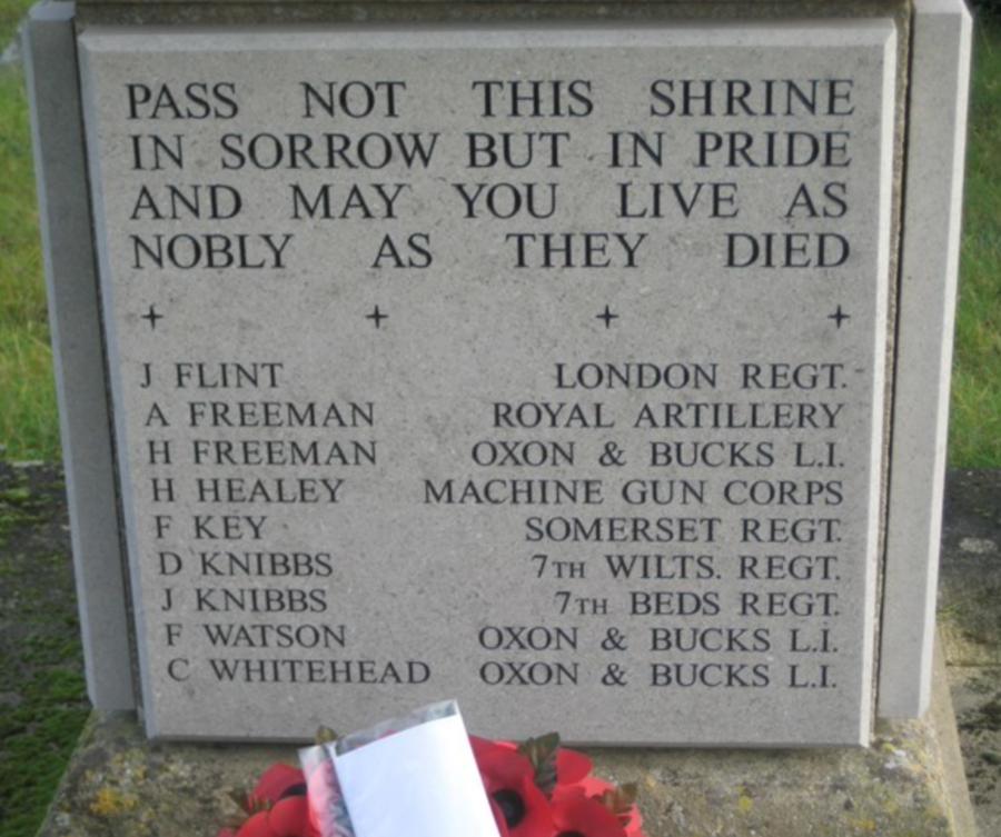Akeley War Memorial 2