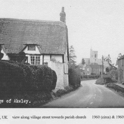 History Akeley Village Street Church