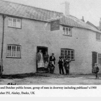 History Bull And Butcher Public House Akeley